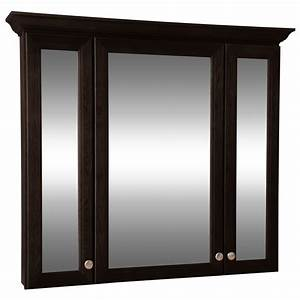 Style selections northrup 42 in espresso wall cabinet for Kitchen cabinets lowes with swarovski mirror wall art