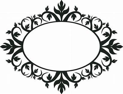 Clipart Shapes Oval Ornamental Frame Webstockreview Ornament