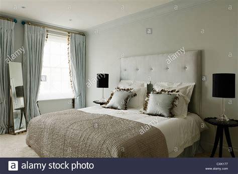 Colour Day Interior Bedroom Double Bed Headboard Window