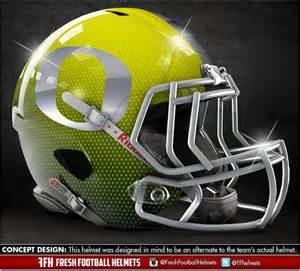 Oregon Ducks Football Helmet