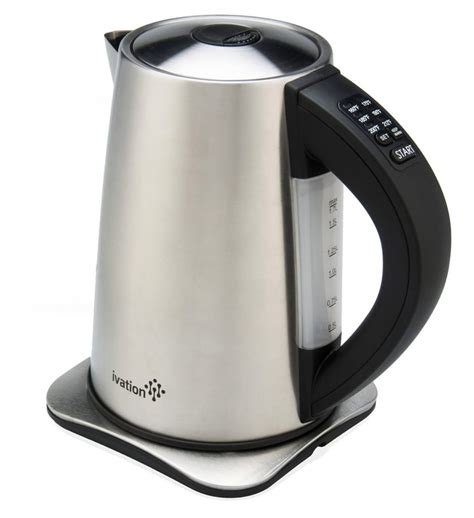electric kettle water tea kettles under everyone ivation precision temp