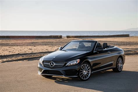 convertible mercedes black black convertible mercedes benz c 300 4matic 2017