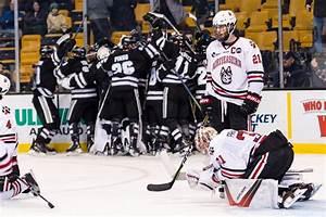 Men's hockey loses in semifinals, focuses on NCAA ...