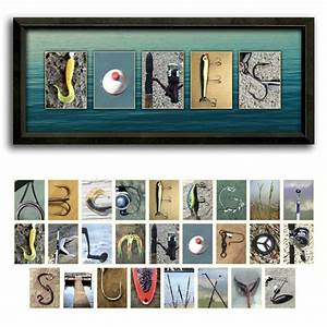 bass fishing letter art name print see what your name With beach letter art photography