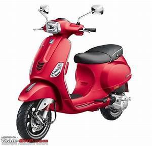 Vespa launches 150cc scooters - SXL & VXL - Team-BHP