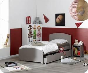 Pack lit enfant nature lin 90x190 cm avec sommier et matelas for Deco chambre enfant avec achat matelas latex 90x190