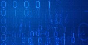 Binary Code Blue Background - jquery.re