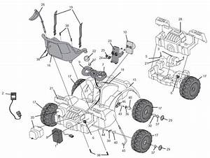Power Wheels Go Kart Parts