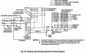 Bryant Thermostat Model 548f036 Wiring Diagram Manual