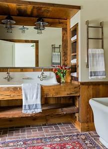 14, Amazing, Farmhouse, Trough, Bathroom, Sink, Designs