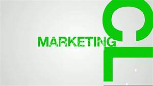 Target Market Marketing Word Cloud Animation Royalty Free Video And