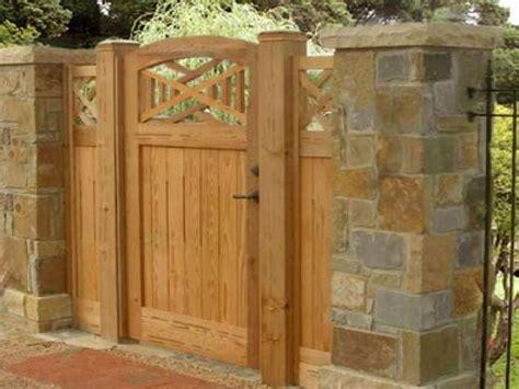 brick  wood fences wooden fence gate designs building  wooden gate designs interior