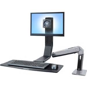 standing desk ergotron 24 313 026 workfit a single ld sit