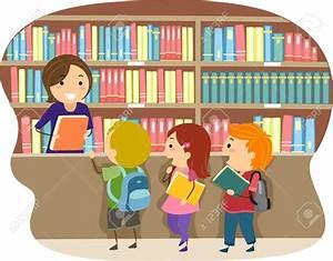 Clipart School Library ClipartXtras
