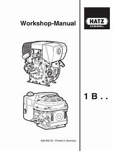 Hatz E950 Diesel Engines Workshop Manual