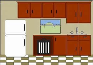 Kitchen | Free Images at Clker.com - vector clip art ...