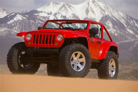 Jeep Wrangler Lower Forty by Mopar Jeep Lower Forty Grand Ii Concepts 2009