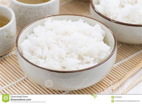cuisine traditionnelle chinoise riz blanc de vapeur traditionnelle chinoise photo stock
