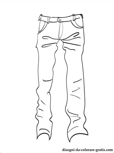 jeans disegni da colorare disegni da colorare gratis