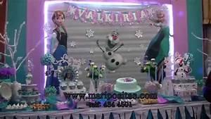 decoracion de frozen en lima
