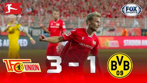Maybe you would like to learn more about one of these? FC Union Berlin - Borussia Dortmund 3-1 | GOLES ...