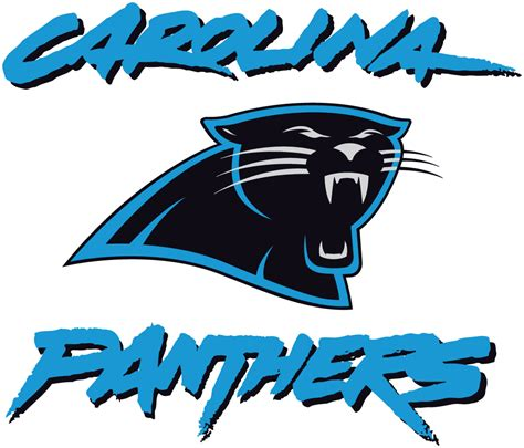 what colors are the carolina panthers carolina panthers alternate logo national football