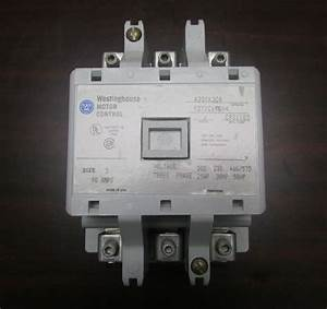 Westinghouse Contactor A200 Size 3 110 120v Coil A201k3ca