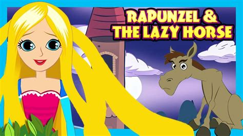 stories horse english lazy rapunzel