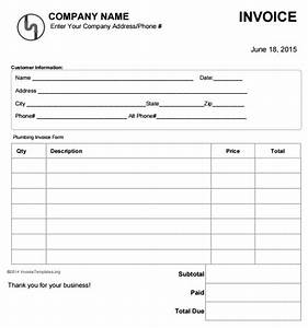 image gallery plumbing estimate With plumbing invoice forms