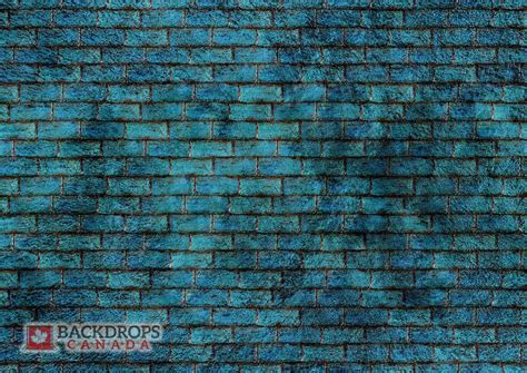Blue Brick Wall ~ Backdrops Canada