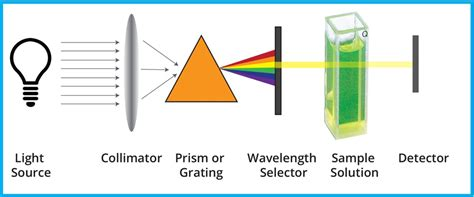 Molecular analysis using UV/Visible spectroscopy