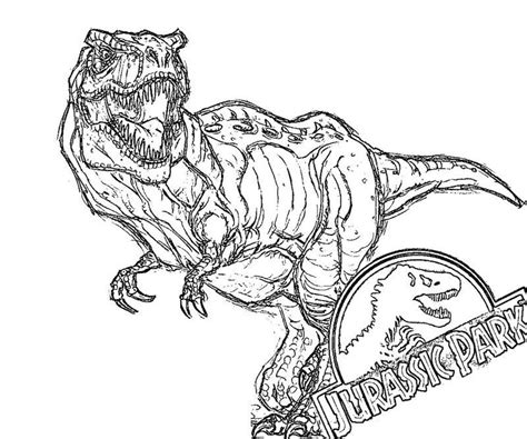 jurassic world coloring pages tyranosaurus rex rxt