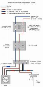 Wiring Diagram For Bath Fan Wiring Diagram