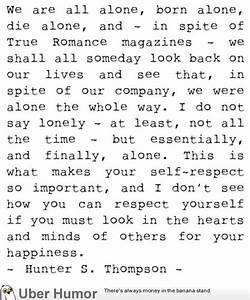 The awesomeness... S Thompson Quotes