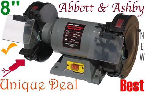 Abbott Ashby Bench Grinder by Bench Grinder Abbott Ashby 8 Inch X 3 4hp New Tpim