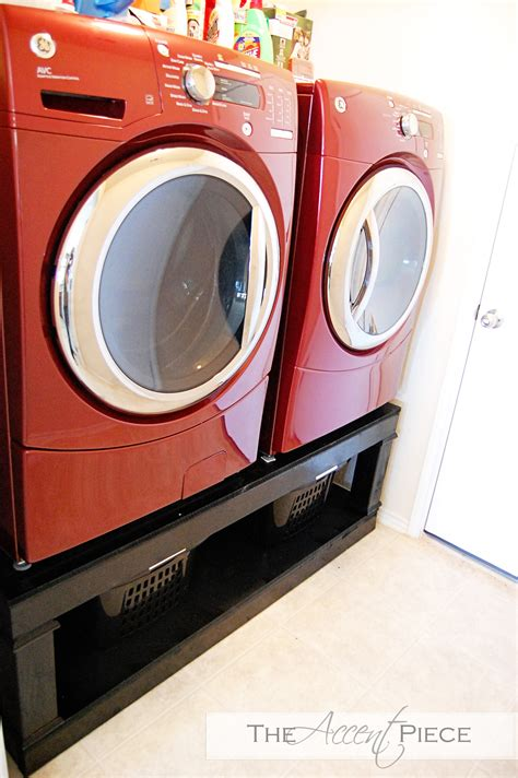 washer dryer pedestal diy washer and dryers pedestal for washer and dryer