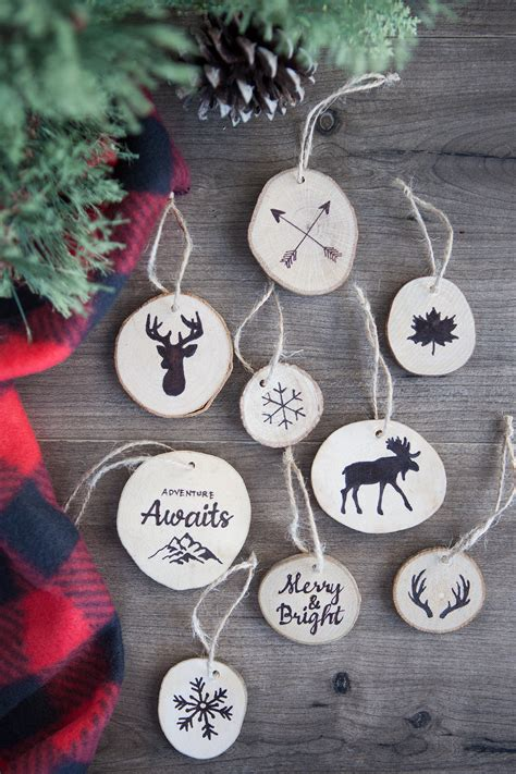 mini canvas ornaments