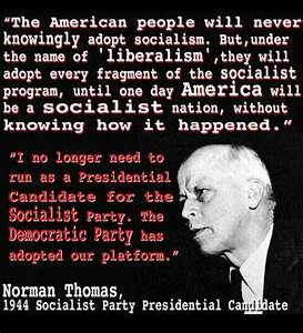 INDEPENDENT CON... Socialist Party Quotes