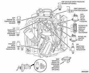 2003 F250 7 3 The Injector Driver Module Relay Is Clicking