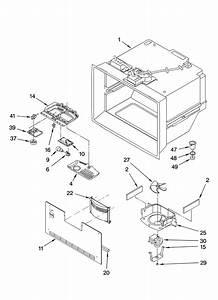 Freezer Liner Parts Diagram  U0026 Parts List For Model Kbra20elss01 Kitchenaid