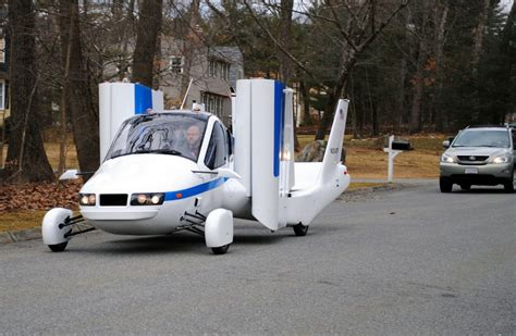 Terrafugia Transition 'flying Car' Counts Down To