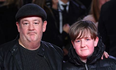 Johnny Vegas attends Star Wars: The Last Jedi premiere