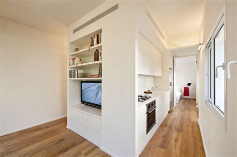 Small Apartment : Creative Small Studio Apartment Ideas With Space-saving