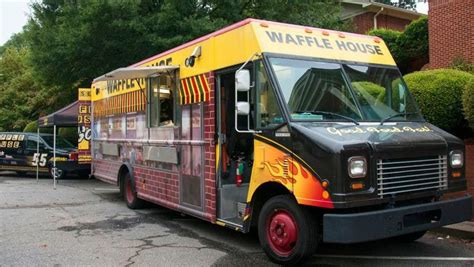 breakfast chain food trucks waffle house food truck