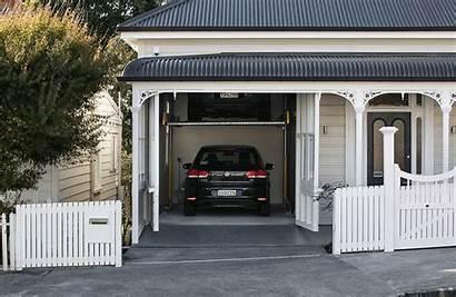 Garage Into Villa Auckland Door Hidden Facade