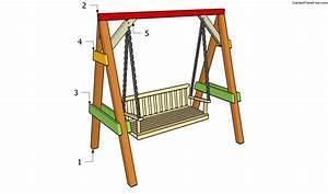 Garden Swing Plans Free Garden Plans - How to build