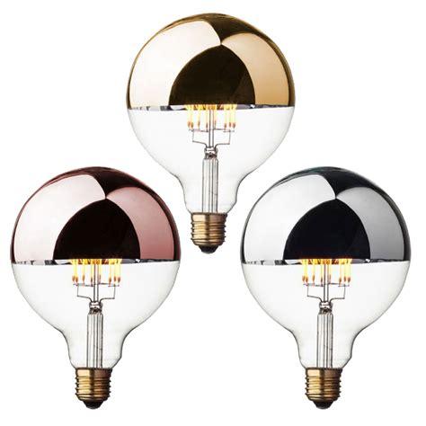 spiegel mit glühbirnen retro gl 252 hbirne led kopfspiegel gold silber kupfer kramsen