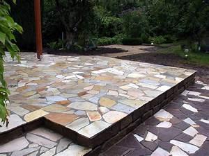 Polygonalplatten Auf Beton Verlegen : trittsteine verlegen gartenwege anlegen ideen f r das ~ Lizthompson.info Haus und Dekorationen