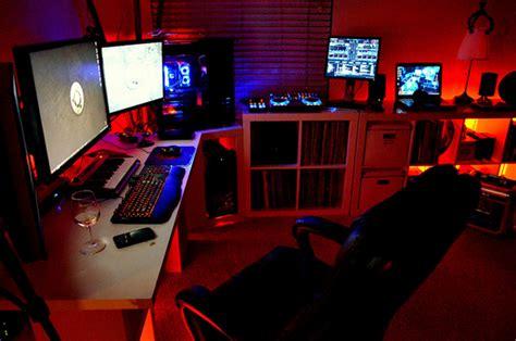 boys gamers bedroom arrangements