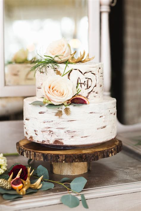 Rustic Romantic Inspiration Wedding Cake Ideas Wedding